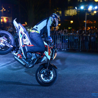 Aaron Colton Motorcycle Stunt Show Photos